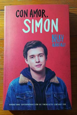 """Novela juvenil """"Con Amor, Simon"""""""