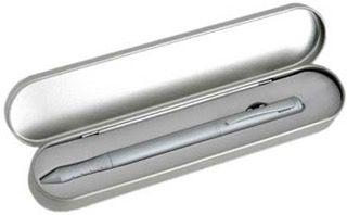 Bolígrafo plata láser
