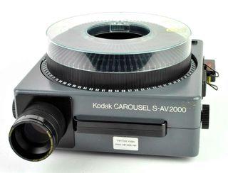 Proyector Kodak Carousel S-AV 2000