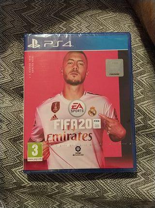 videojuego FIFA20 PS4 Nuevo