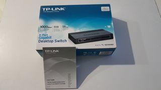 Switch TP-link 8 puertos Gigabit
