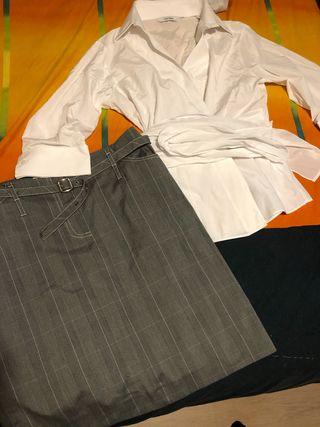 Conjunto Zara-mango