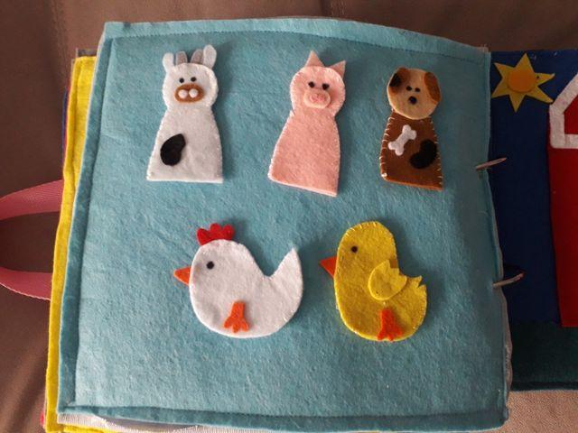 libros sensoriales para niños