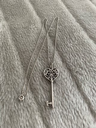 Tiffany & Co colgante collar original.