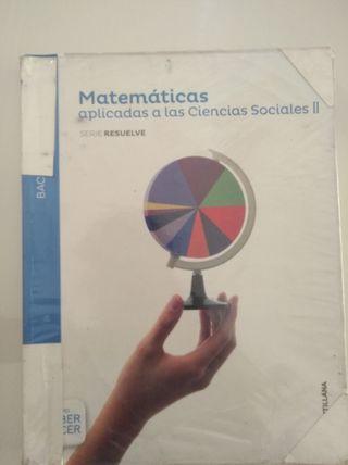 Libro de Matemáticas 2° Bachillerato