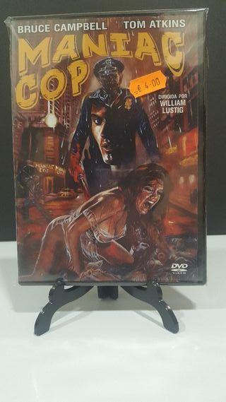 MANIAC COP formato dvd nuevo precintado terror