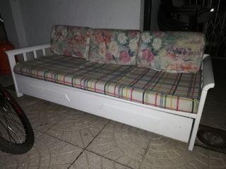 sofá cama nido blanco