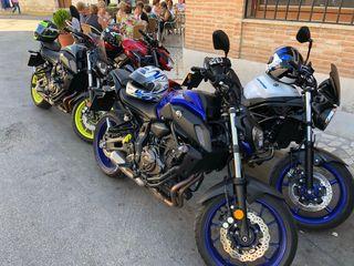 Yamaha MT07 A2