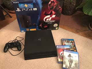 PlayStation 4 Pro, Logitech G29 y Wheelstandpro