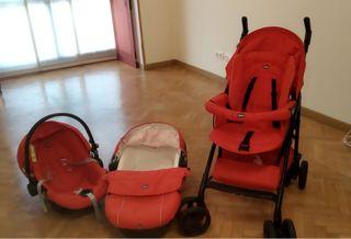 Carrito bebe Chicco Trio Sprint