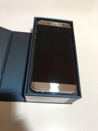 Samsung Galaxy s7 edge plata