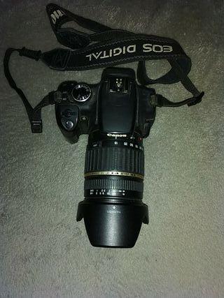 Oportunidad:Canon EOS 350D + lente Sigma 18-200