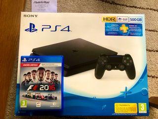 PS4 SLIM 500GB + GARANTÍA