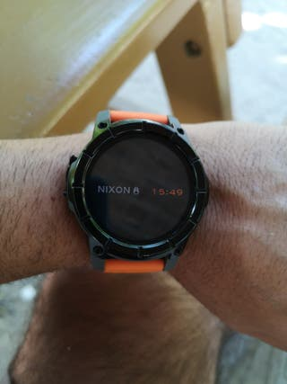 smartwatch nixon mission