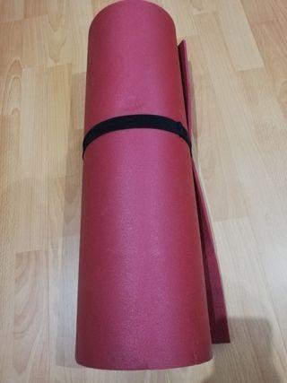 esterilla, yoga, estiramientos