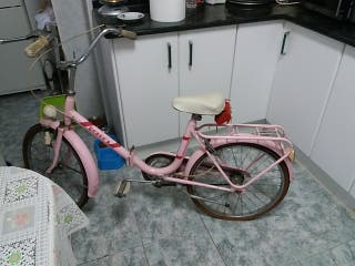 bicicletas año 1970 rosa