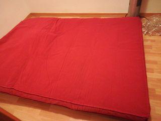 Futon sofá y cama matrimonio!!