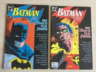 Batman cómics. Una muerte en la familia