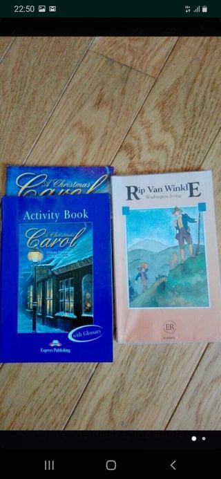 Lote libros inglés. Nivel básico.