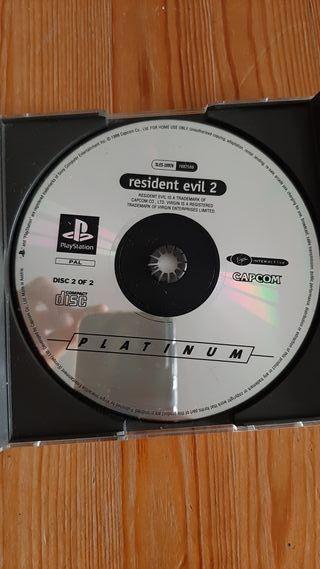 Resident evil 2 ps1 (disco 2)