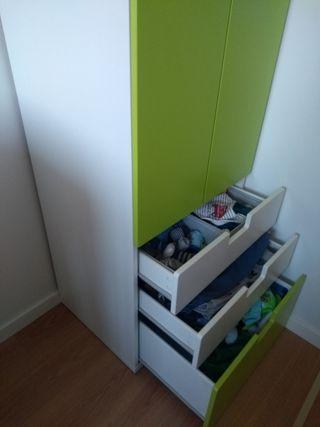 armario infantil STUVA bebe
