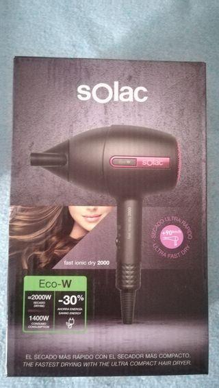 Secador Solac fast ionic dry 2000 nuevo