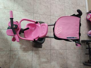 triciclo rosa molto