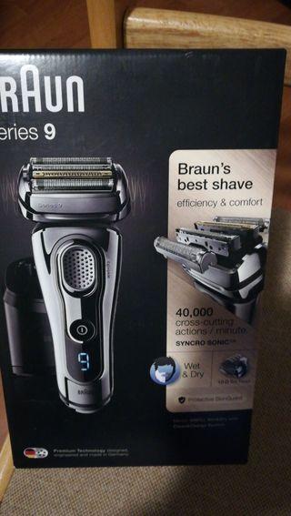 Afeitadora Braun serie 9 9296cc nueva