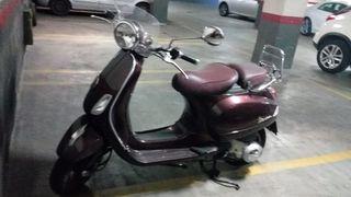 Vespa 125cc serie limitada calle de la mods