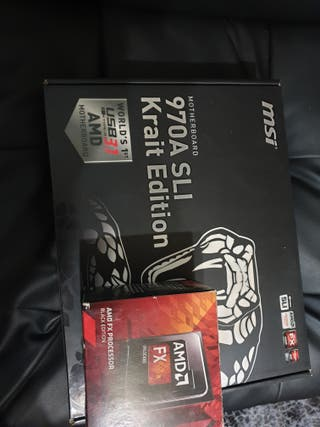 Procesador fx amd 8350 fx black edition+ MSI 970a