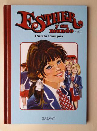 Libro y póster de Esther y su Mundo