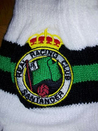Guantes lana niño Racing Santander