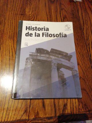 Libro historia de la Filosofía bachillerato