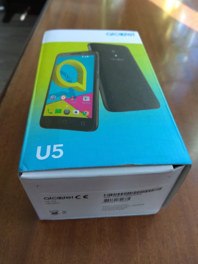 Alcatel U5 nuevo ¡oferta!