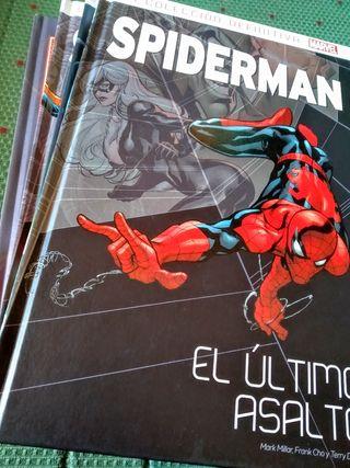 Pack 4 tomos Spiderman Panini. Sólo JUNTOS
