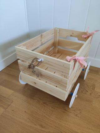 Carritos decoración para niños y bebés personaliza
