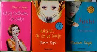 Vendo 3 libros de Marian Keyes
