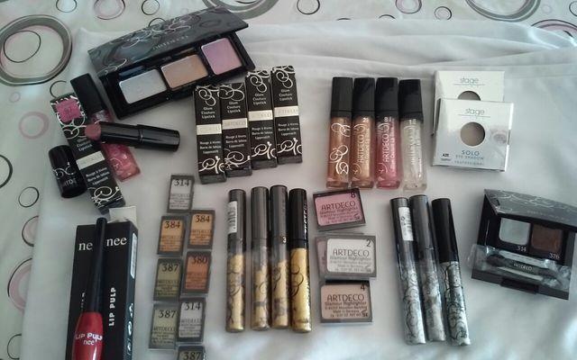 lote de cosmeticos profesionales
