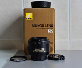 Objetivo Nikon AF-S DX Nikkor 35 mm f/1.8 G