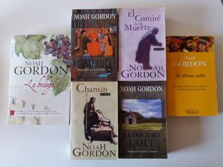 Vendo 6 libros de Noah Gordon