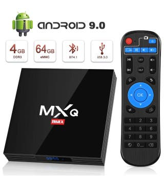 Tv box Android 9.0 alta potencia 64 GB