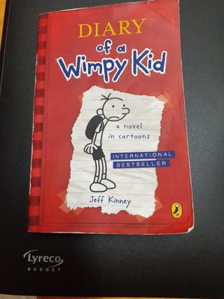 libro Diary oficina a Wimpy kid