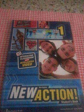 Libro de NewAction/student`s Book 1 ESO
