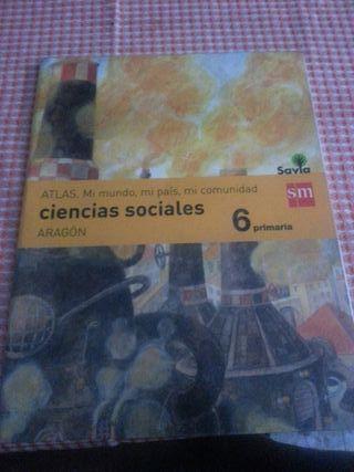 Libro de ciencias sociales de 6 de primaria