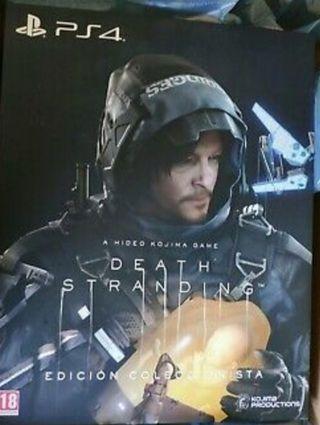 Death Stranding edicion coleccionista PS4