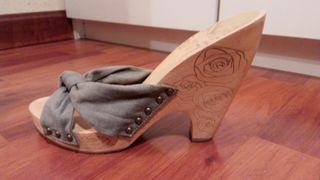 Sandalias de tacon Stradivarius