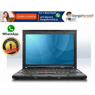 Portátil Lenovo X200, 4Gb / Cam / Windows 7 Gratis