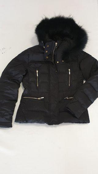 abrigo mujer U.S POLO ASSN. negro