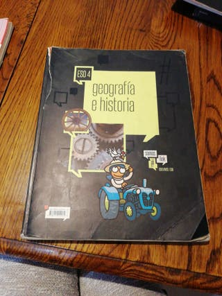 Libro de geografía e historia 4 ESO