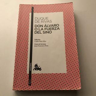 Don álvaro o la fuerza del sino - Duque de Rivas